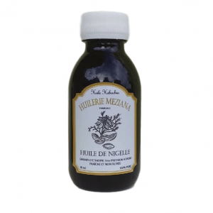 bouteille 90 ml huile de nigelle meziana
