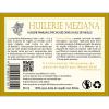 étiquette arrière huile Meziana